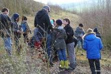 22/01/14 : Géologie. (Partie 2 : le Carbonifère). Visite de terrain (terril de l'Héribus) + recherche de fossiles.